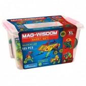 Магнитный конструктор Mag-Wisdom 123 детали