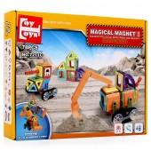 Магнитный конструктор Magical Magnet 78 деталей