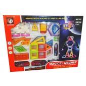 Магнитный конструктор Magical Magnet 132 детали