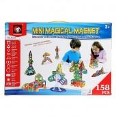 Магнитный конструктор Mini Magical Magnet 158 деталей