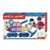 Магнитный конструктор Magical Magnet 56 деталей