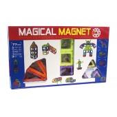 Магнитный конструктор Magical Magnet 77 деталей