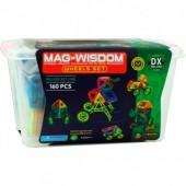 Магнитный конструктор Mag-Wisdom 160 деталей