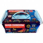 Магнитный конструктор Mag-Wisdom 200 деталей