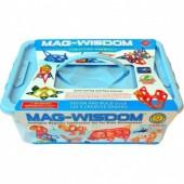 Магнитный конструктор Mag-Wisdom 118  деталей