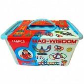 Магнитный конструктор Mag-Wisdom 148 деталей