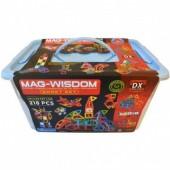 Магнитный конструктор Mag-Wisdom 218 деталей