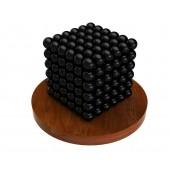 Куб из магнитных шариков 5 мм (чёрный), 216 элементов