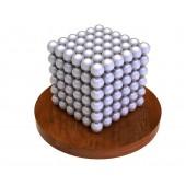 Куб из магнитных шариков 5 мм (жемчужный), 216 элементов