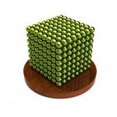 Куб из магнитных шариков 2,5 мм (оливковый), 512 элементов