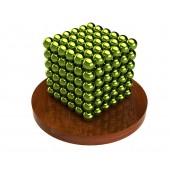 Куб из магнитных шариков 5 мм (оливковый), 216 элементов