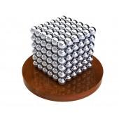 Куб из магнитных шариков 5 мм (серебрянный), 216 элементов
