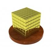 ТетраКуб 5мм (золотой) 125 элементов